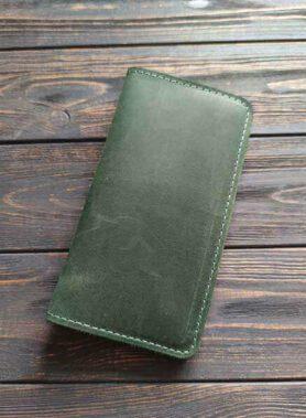 Зелений клатч primal maxi з безкоштовним гравіруванням