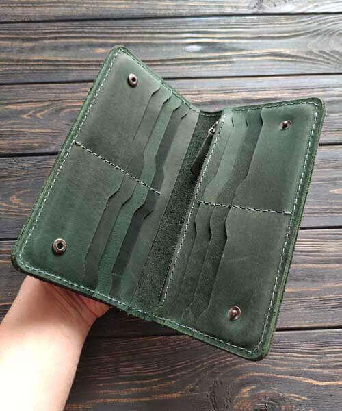 Зелений клатч primal maxi з безкоштовним гравіруванням3