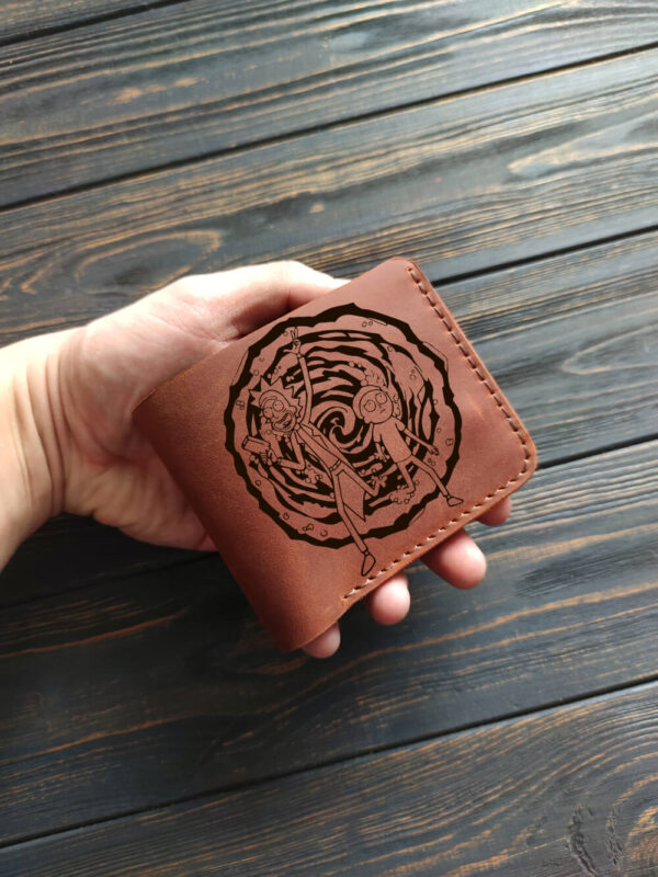 Rick morty wallet